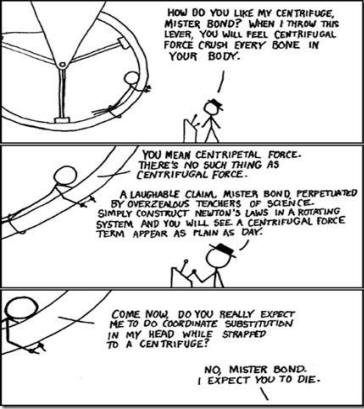 QUESTION  Would you give an example of how centripetal force ... c88a979582